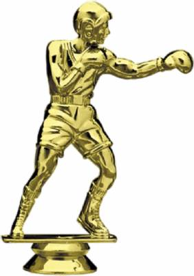 "5"" Gold Boxing Trophy Figure"