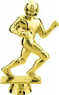 "Gold 4.75"" Football Runner Trophy Figure"