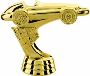 "3"" Pinewood derby Trophy Figure"