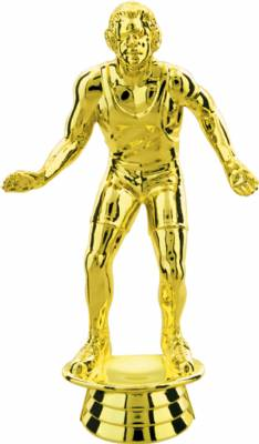 "Gold 5"" Wrestler Figure"