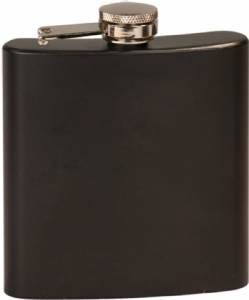 6 oz. Engraveable Stainless Steel Flask - Choose from 7 Colors #2