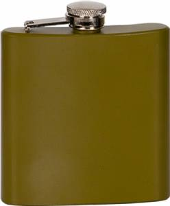 6 oz. Engraveable Stainless Steel Flask - Choose from 7 Colors #5
