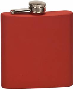 6 oz. Engraveable Stainless Steel Flask - Choose from 7 Colors #6