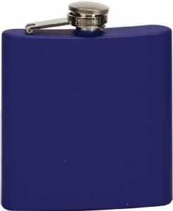 6 oz. Engraveable Stainless Steel Flask - Choose from 7 Colors #7