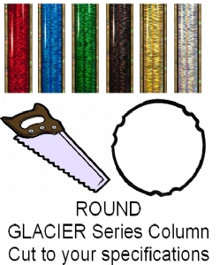 Round Glacier Trophy Column - Cut to Length