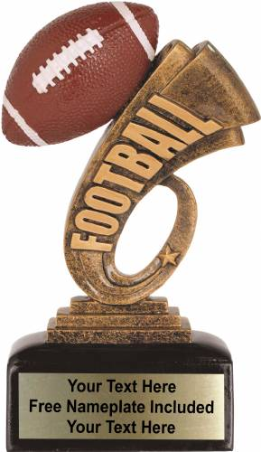 "7"" Football Trophy Headline Series Resin"