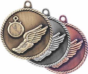 High Relief Track Award Medal