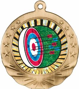 Archery Award Medal with Holographic Insert