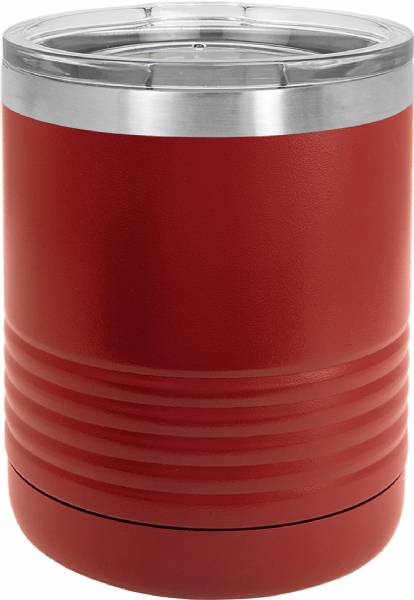 Maroon 10oz Polar Camel Vacuum Insulated Tumbler