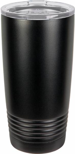 Black 20oz Polar Camel Vacuum Insulated Tumbler no Silver Ring