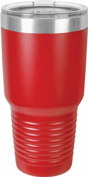 Red 30oz Polar Camel Vacuum Insulated Tumbler