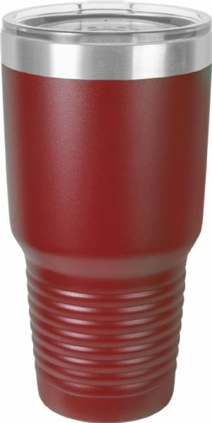 Maroon 30oz Polar Camel Vacuum Insulated Tumbler