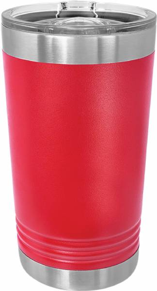 Red 16oz Polar Camel Vacuum Insulated Pint w Slider Lid