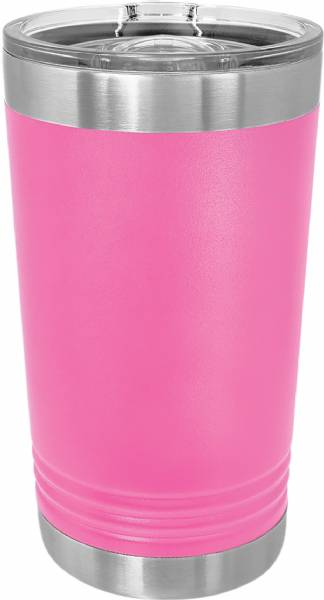 Pink 16oz Polar Camel Vacuum Insulated Pint w Slider Lid