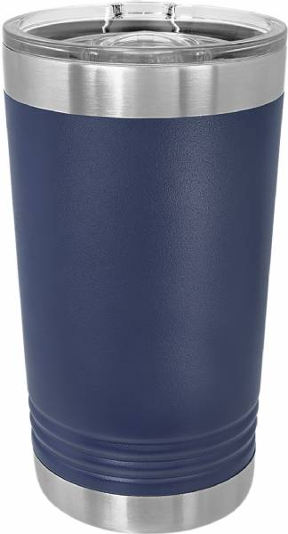 Navy Blue 16oz Polar Camel Vacuum Insulated Pint w Slider Lid