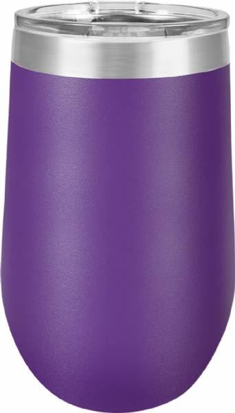 Purple 16oz Stemless Polar Camel Vacuum Insulated Tumbler