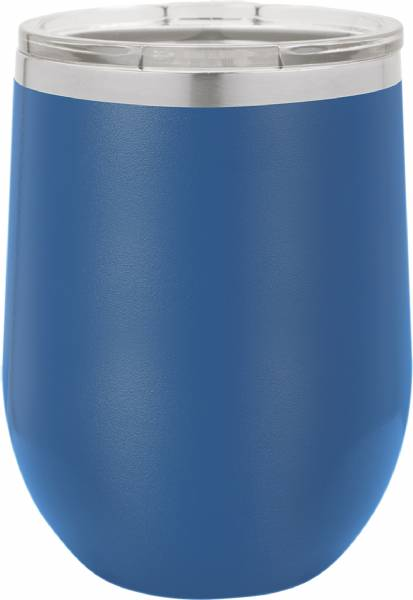 Royal Blue 12oz Polar Camel Vacuum Insulated Wine Tumbler