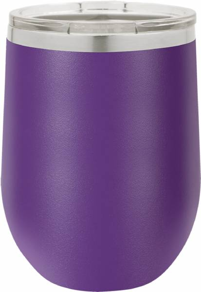 Purple 12oz Polar Camel Vacuum Insulated Wine Tumbler