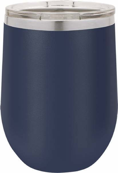 Navy Blue 12oz Polar Camel Vacuum Insulated Wine Tumbler