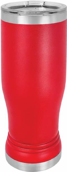 Red 14oz Pilsner Polar Camel Vacuum Insulated Tumbler