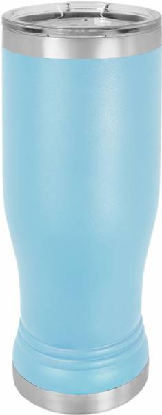 Light Blue 14oz Pilsner Polar Camel Vacuum Insulated Tumbler