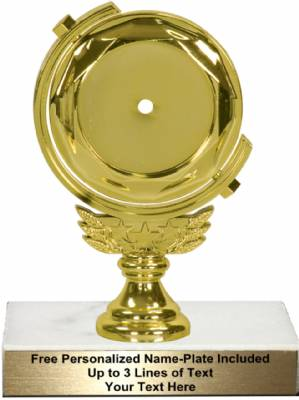 "5 3/4"" - 2"" Insert Holder Rotating Star Trophy Kit"