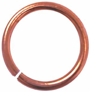 "1/4"" Bronze Jump Ring for Pin Drapes and Ribbons"