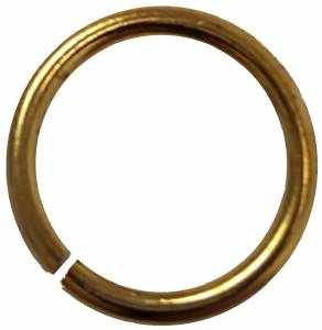 "1/4"" Gold Jump Ring for Pin Drapes and Ribbons"