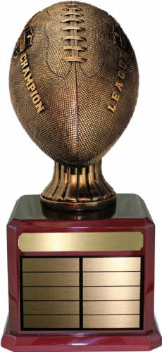 "17 "" Antique Gold Fantasy Football League Champion Trophy Kit"