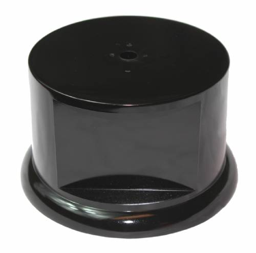 "Round Weighted Trophy Base 2 3/8"" H X 3 3/4"" W"