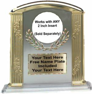 "Clear 6"" Roman Column Award"