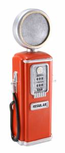 "8 3/4"" Vintage Gas Pump Resin Trophy"