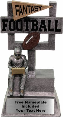 "7 1/4""  Fantasy Football Goalkeeper Resin Award"