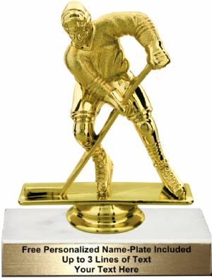 "4 3/4"" Male Hockey Trophy Kit"