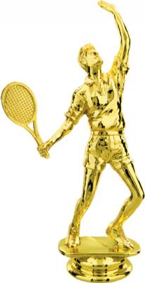 "Gold 6"" Male Tennis figure"