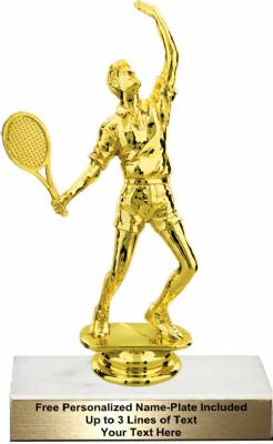 "6 3/4"" Male Tennis Trophy Kit"