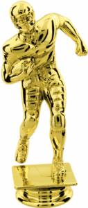 "Gold 4-3/4"" Football Runner Trophy Figure"