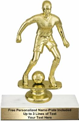 "6 3/4"" Female Soccer Trophy Kit"