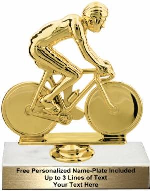 "5 3/4"" Male Cycling Trophy Kit"