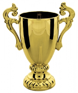 "Gold 4"" Plastic Trophy Cup"