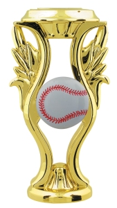 "5"" Color Baseball Trophy Riser"
