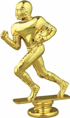 "Gold  5-1/4"" Football Runner Trophy Figure"
