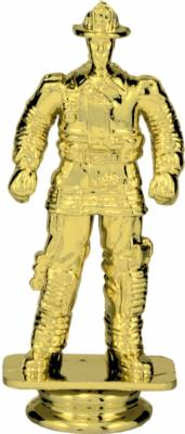 "Gold 5"" FIREMAN Trophy Figure"