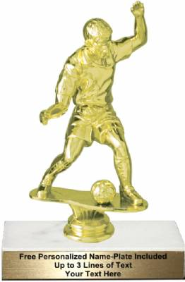 "6 3/4"" Male Soccer Trophy Kit"