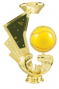"6"" Softball Spinning Trophy Riser"