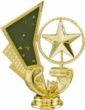 "4.5"" Star Spinning Trophy Figure"