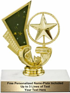 "5 1/4"" Star Spinning Trophy Kit"