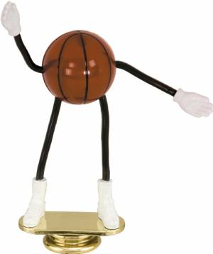 "5"" Trophy Dude Bendable Basketball Trophy Figure"