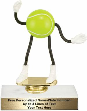 "5 3/4"" Trophy Dude Bendable Tennis Trophy Kit"