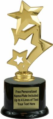 "7"" Star Trophy Kit with Pedestal Base"